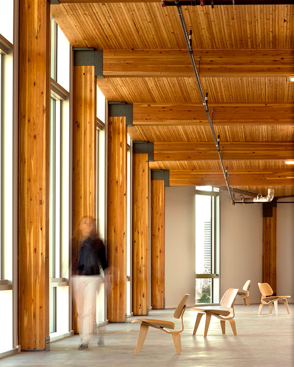 Bullitt Center, Sustainable Building Interior View