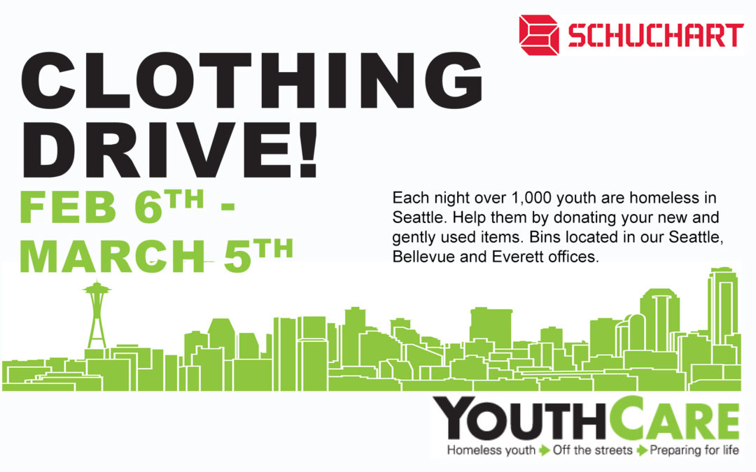 Clothing Drive for YouthCare