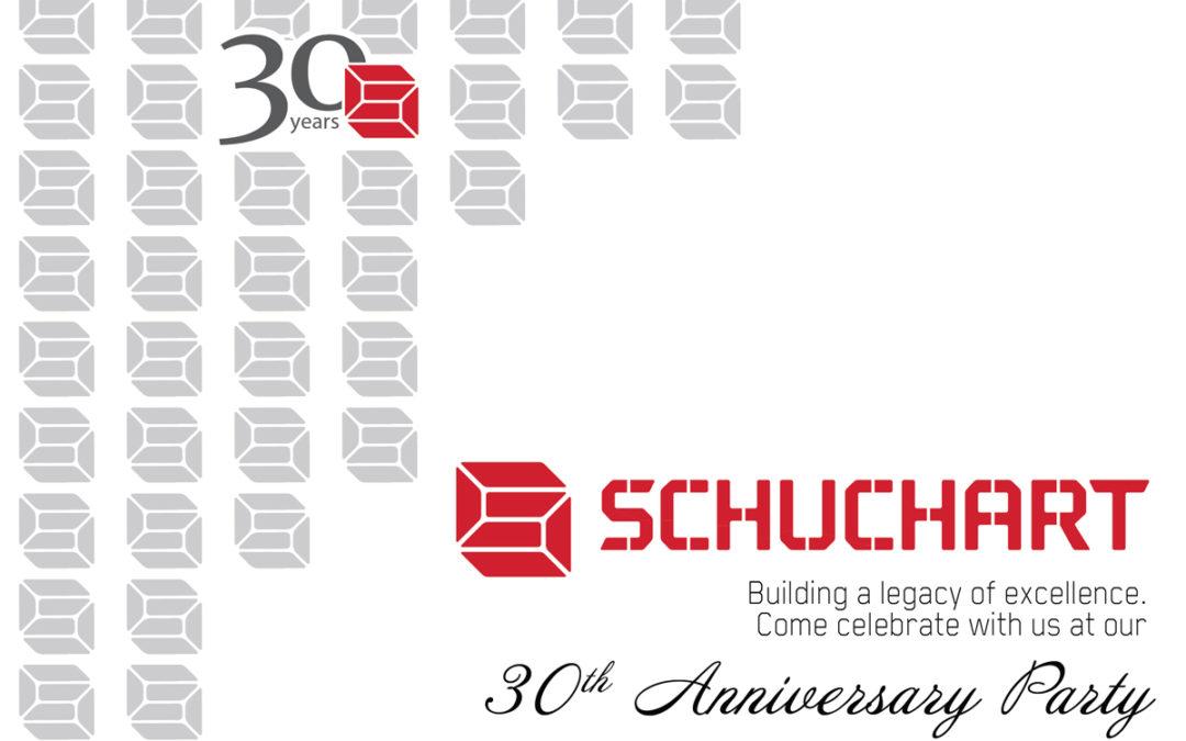 Celebrate with Schuchart!