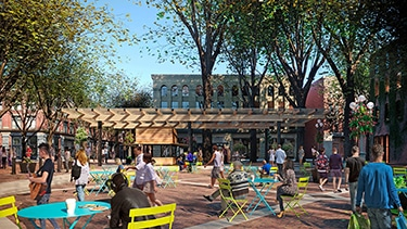 Schuchart starting work on Pavilion at Occidental Square this Fall